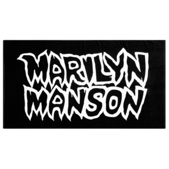 ručník (osuška) KILLSTAR - MARILYN MANSON - Avoid The Sun - Black, KILLSTAR, Marilyn Manson