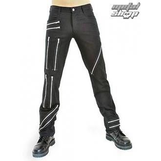 kalhoty pánské Black Pistol - Zipper Pants Denim Black - B-1-25-001-00