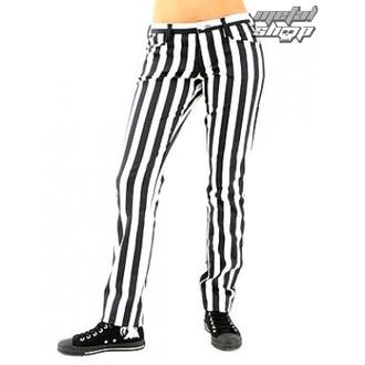 kalhoty dámské Black Pistol - Close Pants Stripe Black/white, BLACK PISTOL