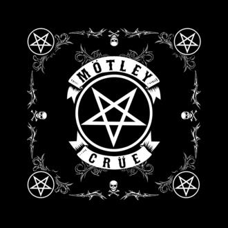 šátek Mötley Crüe - Pentagram - RAZAMATAZ, RAZAMATAZ, Mötley Crüe
