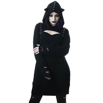 svetr dámský KILLSTAR - Bad Kitty - BLACK, KILLSTAR