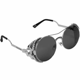 sluneční brýle KILLSTAR - Baphomet - SILVER - KSRA002725