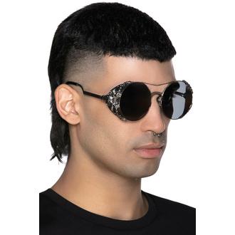 sluneční brýle KILLSTAR - Baphomet - SILVER, KILLSTAR