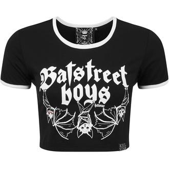 tričko dámské (top) KILLSTAR - Bat Street Boys Crop - KSRA002299