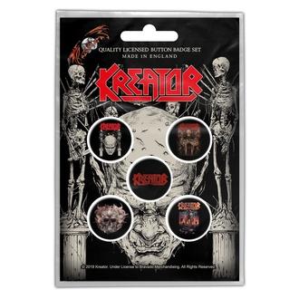 placky Kreator - Skull & Skeletons - RAZAMATAZ, RAZAMATAZ, Kreator