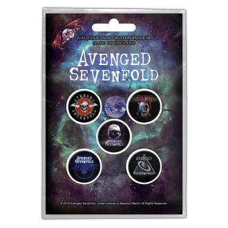 placky Avenged Sevenfold - The Stage - RAZAMATAZ, RAZAMATAZ, Avenged Sevenfold