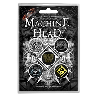 placky Machine Head - Crest - RAZAMATAZ, RAZAMATAZ, Machine Head