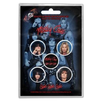 placky Mötley Crüe - Girls, Girls, Girls - RAZAMATAZ, RAZAMATAZ, Mötley Crüe