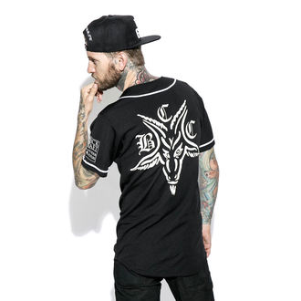 košile (unisex) BLACK CRAFT - Team Satan Baseball Jersey, BLACK CRAFT