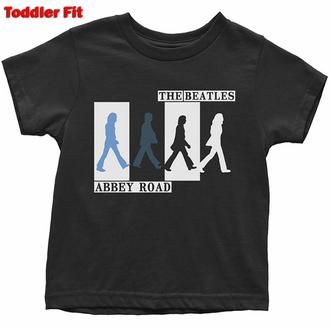 tričko dětské Beatles - Abbey Road Colours Crossing - ROCK OFF, ROCK OFF, Beatles