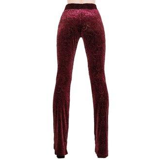 kalhoty dámské KILLSTAR - Bellatrix - WINE, KILLSTAR