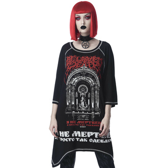 tričko unisex (tunika) KILLSTAR - Beloved Longline - Black, KILLSTAR
