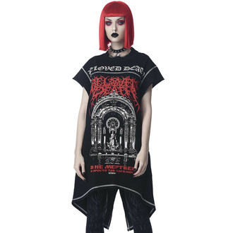 tričko (tunika) unisex KILLSTAR - Beloved Longline - Black, KILLSTAR