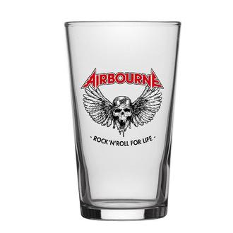 sklenice Airbourne - Rock 'N' Roll For Lif - RAZAMATAZ, RAZAMATAZ, Airbourne