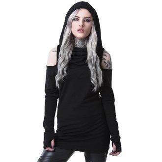 tričko dámské s dlouhým rukávem KILLSTAR - BIBLIOMANCY- BLACK, KILLSTAR