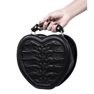taška (kabelka) KILLSTAR - Black Heartz - Black, KILLSTAR