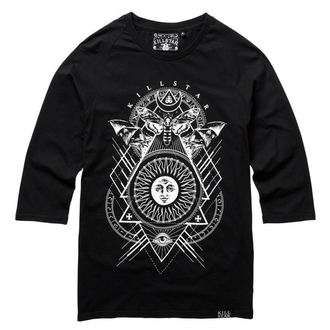 tričko dámské s 3/4 rukávem KILLSTAR - BLACK SUN - BLACK, KILLSTAR