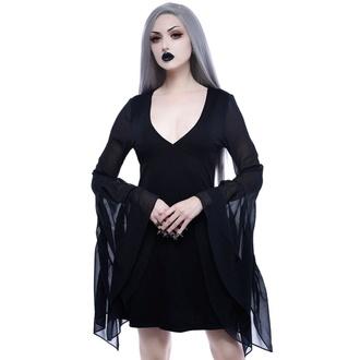 šaty dámské KILLSTAR - Black Veil - KSRA001082