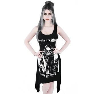 šaty dámské (tunika) KILLSTAR - Black Cats - KSRA000991