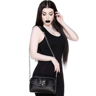 kabelka (taška) KILLSTAR - Black Widow Cross Body - Black, KILLSTAR
