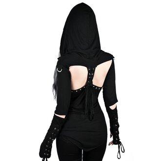 tričko dámské s dlouhým rukávem KILLSTAR - Blazing Betty - BLACK, KILLSTAR