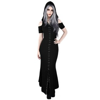 šaty dámské KILLSTAR - Blazing Maxi - BLACK, KILLSTAR