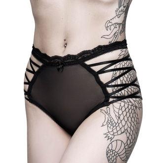 kalhotky dámské KILLSTAR - Bordello - BLACK, KILLSTAR