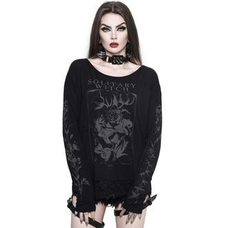tričko dámské s dlouhým rukávem KILLSTAR - Botany - Black, KILLSTAR