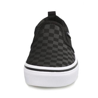 boty dětské VANS - YT ASHER (Checker)Blk/Bl, VANS