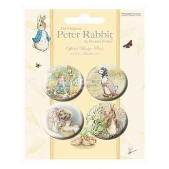placky - Beatrix Potter - BP80167 - Pyramid Posters