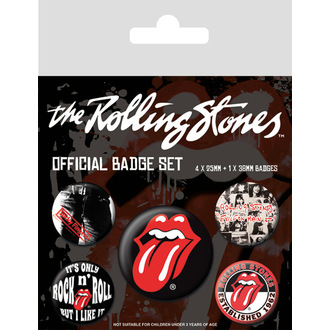 placky Rolling Stones - (Classic) - PYRAMID POSTERS, PYRAMID POSTERS, Rolling Stones