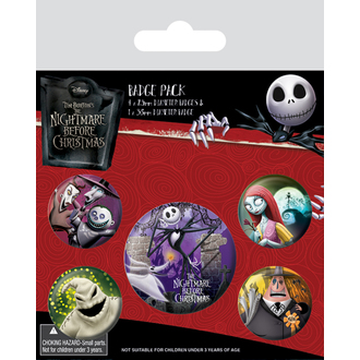 placky Nightmare Before Christmas - (Characters) - PYRAMID POSTERS, PYRAMID POSTERS, Nightmare Before Christmas