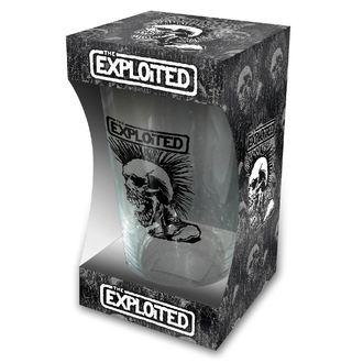 sklenice EXPLOITED - SKULL - RAZAMATAZ, RAZAMATAZ, Exploited