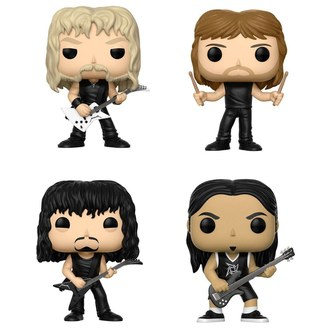 figurky (set) Metallica - Band, POP, Metallica