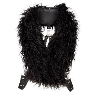 šála KILLSTAR - CALYPSO FUR - BLACK, KILLSTAR