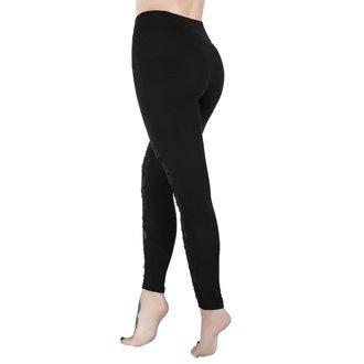 kalhoty dámské (legíny) KILLSTAR - CASKET KICKER - BLACK, KILLSTAR