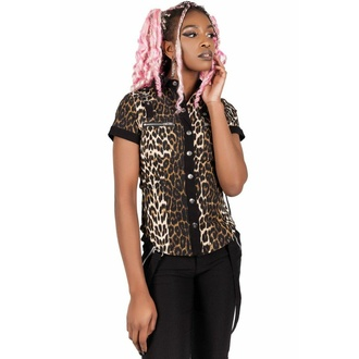 košile dámská KILLSTAR - Cats Meow, KILLSTAR