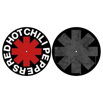podložka na gramofon (set 2ks) RED HOT CHILI PEPPERS - ASTERISK - RAZAMATAZ, RAZAMATAZ, Red Hot Chili Peppers