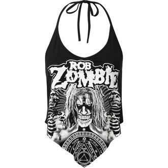 tílko dámské KILLSTAR - Rob Zombie - Channel X Rocker - BLACK - KSRA000740