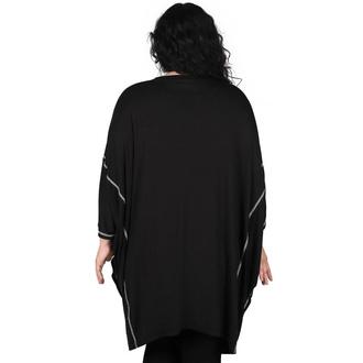 tričko dámské (tunika) KILLSTAR - Chill Out Batwing - Black, KILLSTAR
