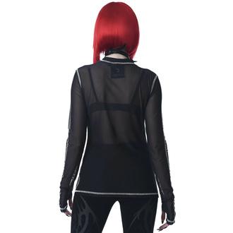 tričko dámské s dlouhým rukávem KILLSTAR - Chill Out Mesh - Black, KILLSTAR
