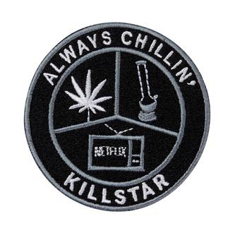 nažehlovačka (nášivka) KILLSTAR - Chill - BLACK - K-PTH-U-2971