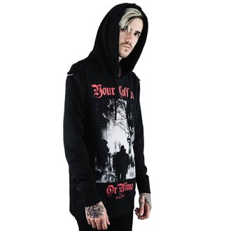mikina (unisex) KILLSTAR - Coffin - BLACK, KILLSTAR