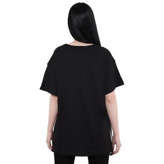 tričko (unisex) KILLSTAR - Coffin Relaxed - BLACK, KILLSTAR