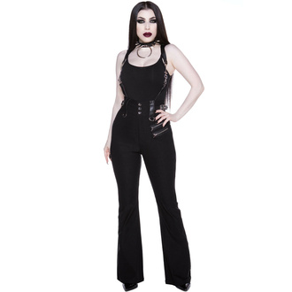 kalhoty dámské KILLSTAR - Corporate Misfit - Black - KSRA003362