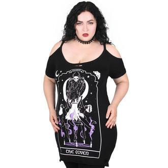 tričko dámské (top) KILLSTAR - Coven Distress - Black, KILLSTAR