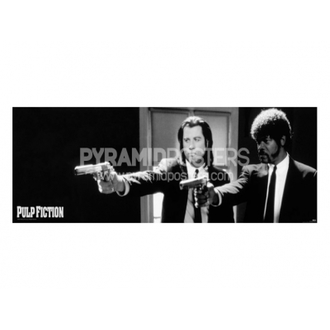 plakát - Pulp Fiction (B&W Guns) - CPP20107, PYRAMID POSTERS, Pulp Fiction