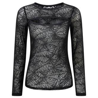 tričko dámské s dlouhým rukávem KILLSTAR - CREEPED OUT - BLACK