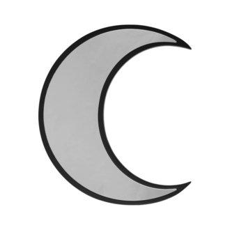 zrcadlo (dekorace) KILLSTAR - Crescent - BLACK, KILLSTAR