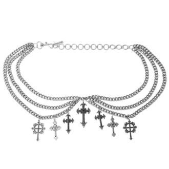 pásek KILLSTAR - Crucifix - Chain, KILLSTAR